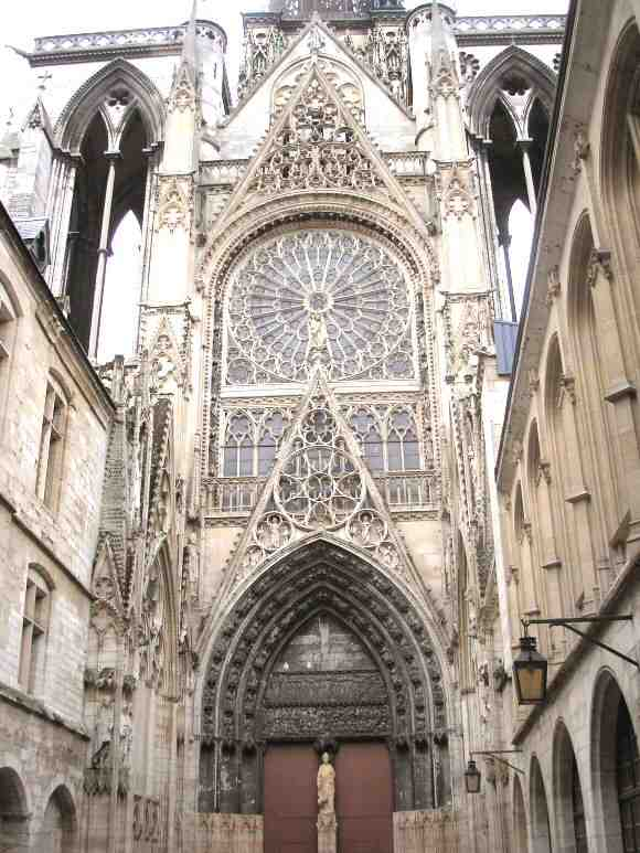rouen, cathedrale, nord
